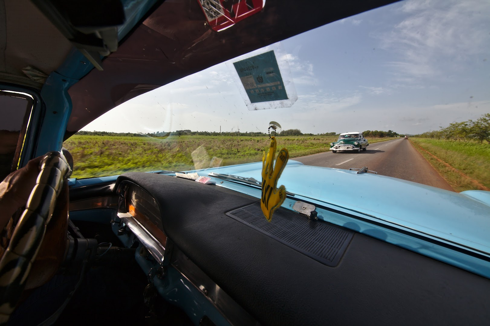 Rural roads of Cuba