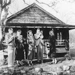 The Pilgrim family at Prospect House
