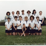 Girls Inter Hockey team