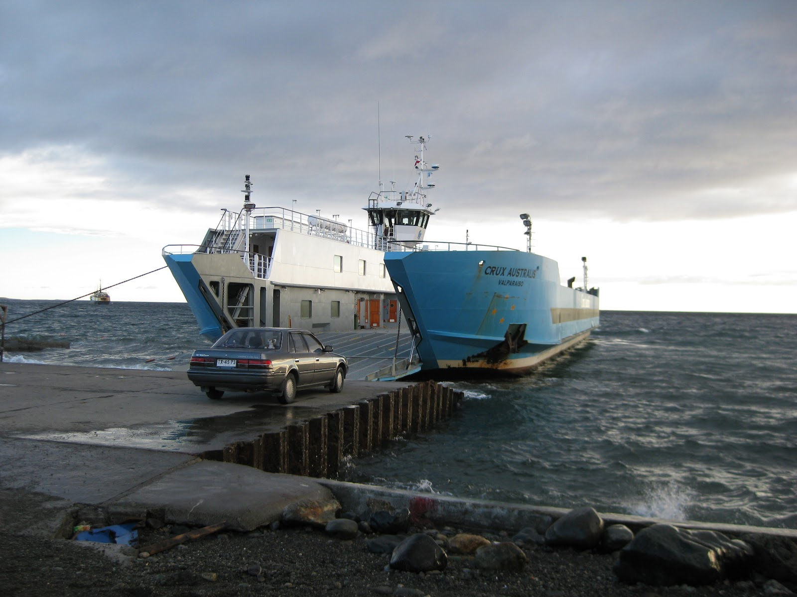 Punta Arenas to Porvenir ferry