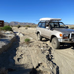 Leaving Pinyon Wash on our way to Fish Creek and Split Mountain