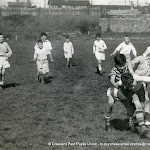 U12s Rugby Action 1957