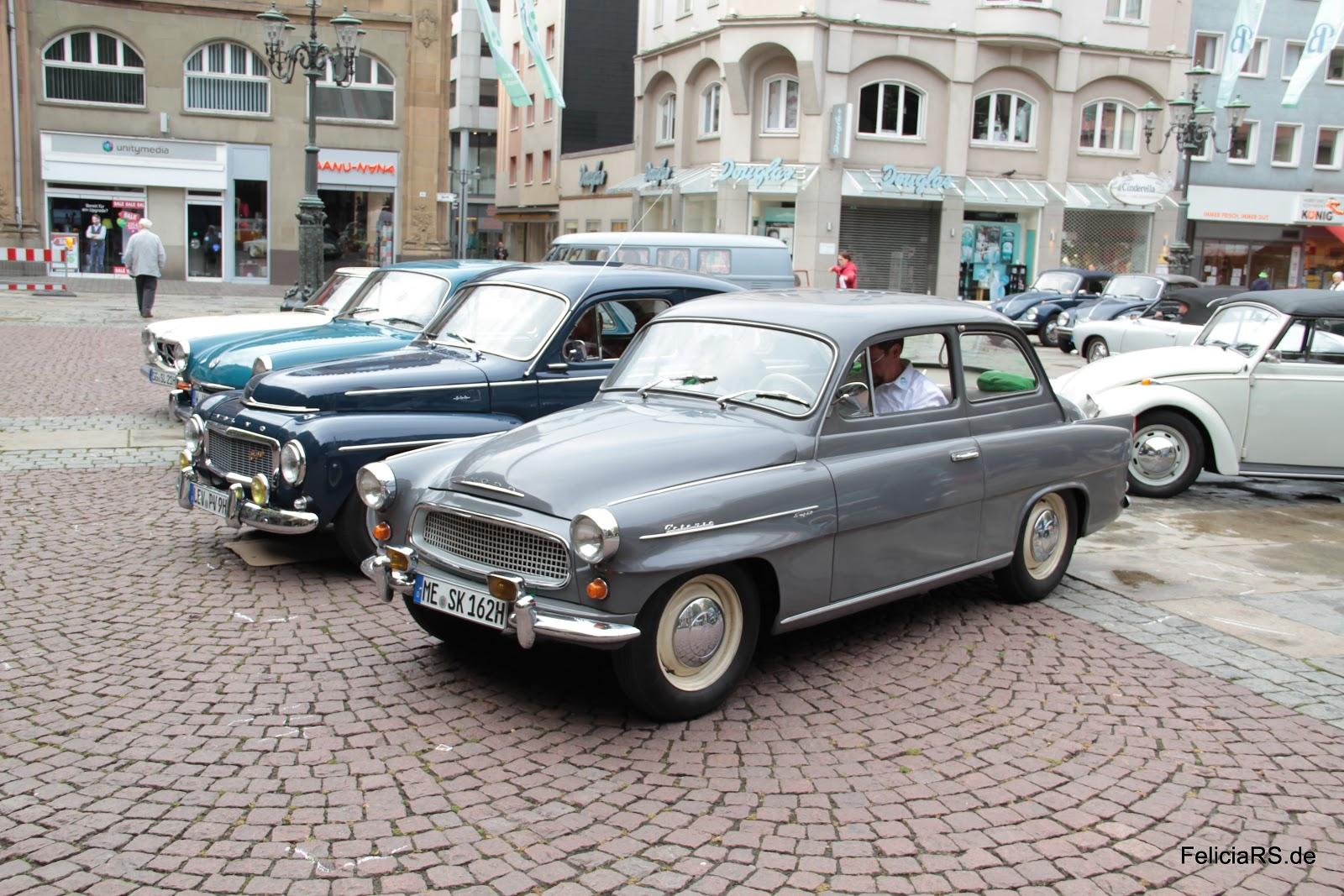 Startnummer 14 Škoda Octavia Super von 1963