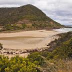 Along the southern coast of Australia