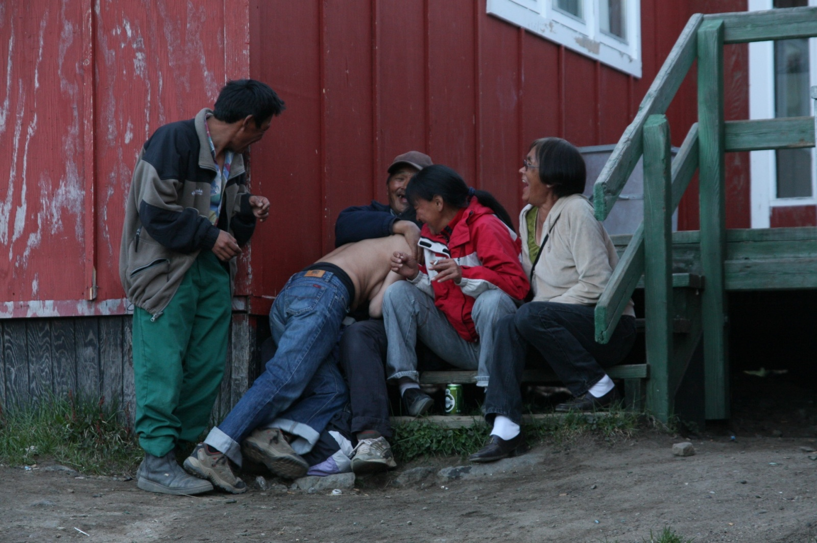 Greenlandic nightlife and party people