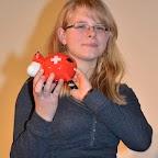 Premier prix des 13-14 ans: Amélie Schenker et son prix.