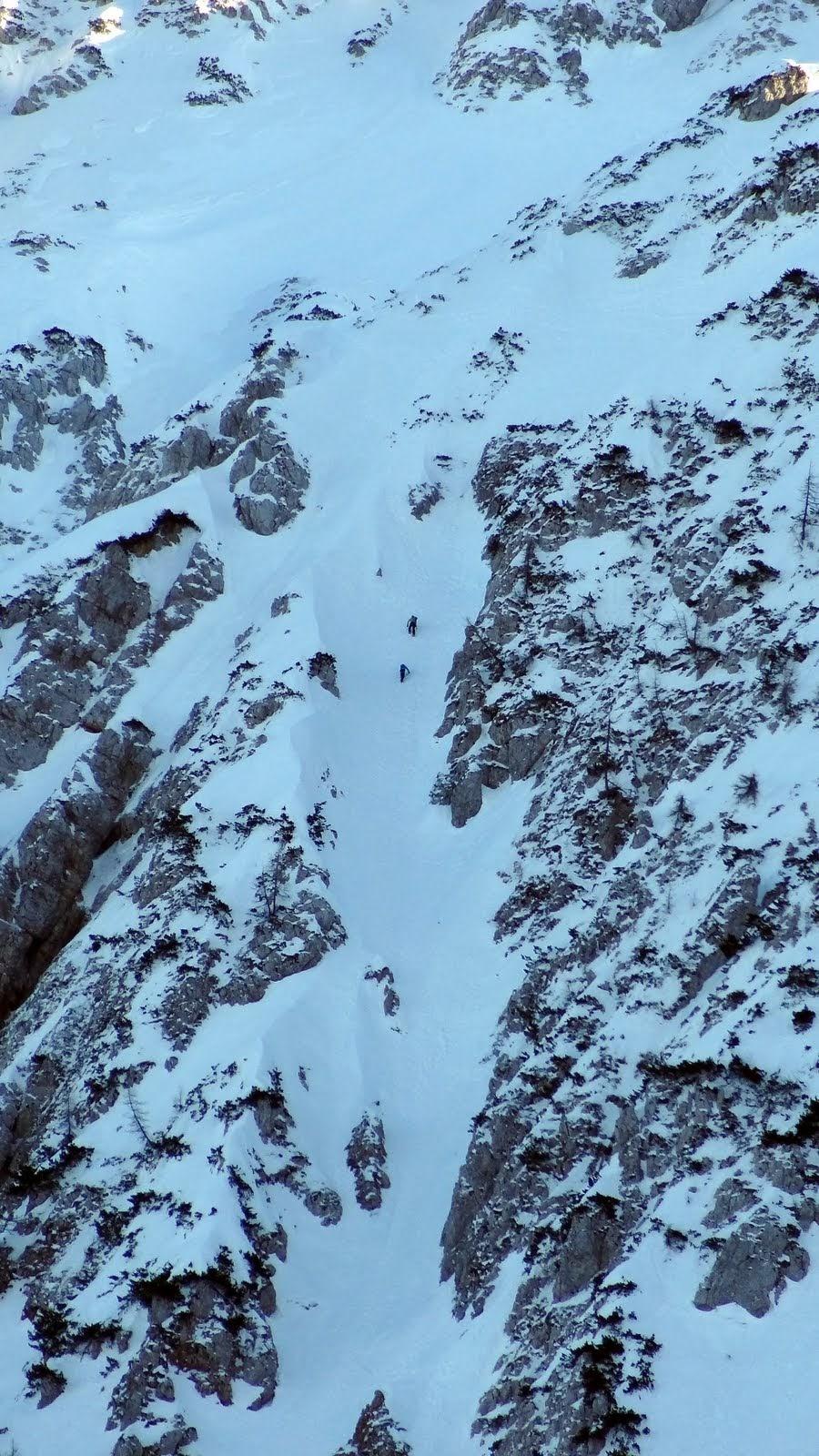 Dva alpinista u Lenuhovoj