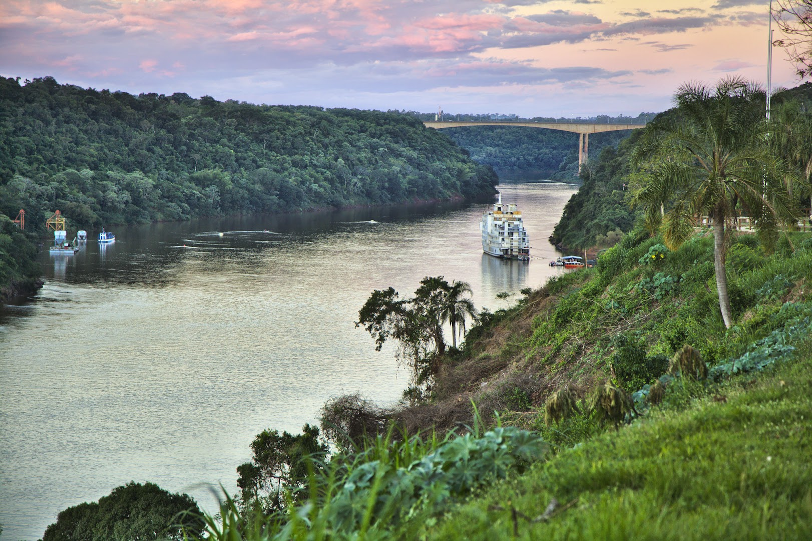 Border between Brazil and Argentina