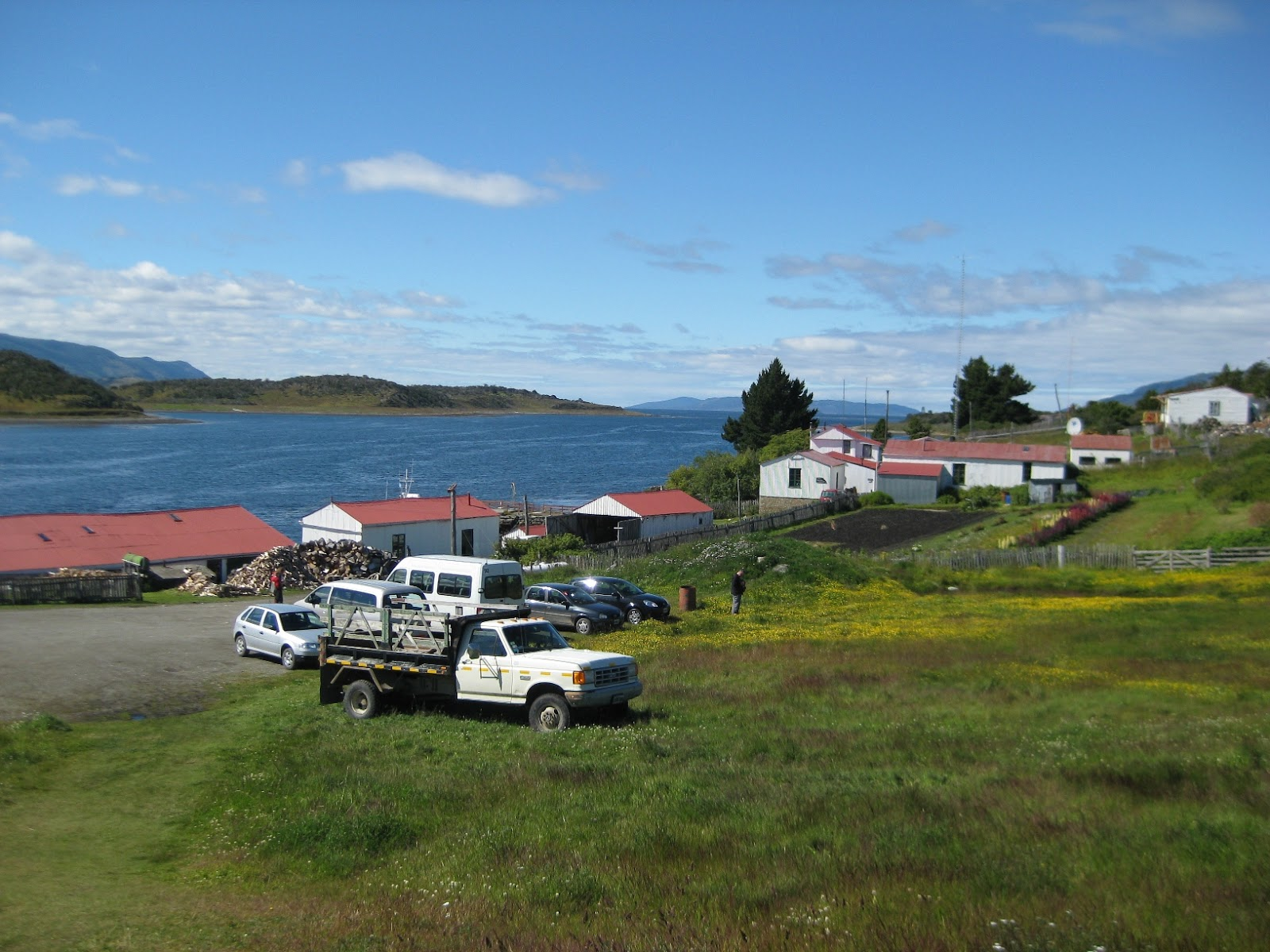 Estancia Harberton, first on the island (first building on the island!)
