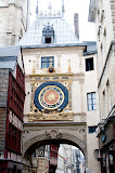 Rouen - the Gros Horologe  (by Richard)