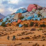 Tafraoute and Anti Atlas, Morocco