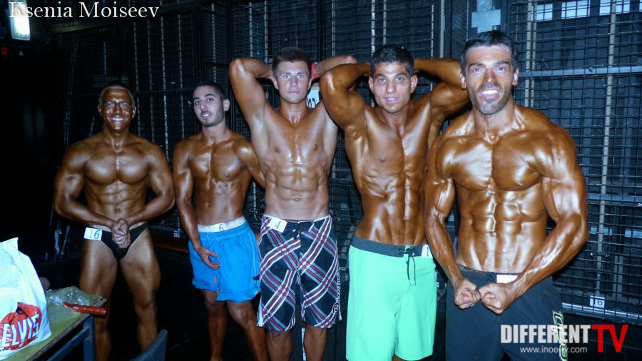 Body building open championship NAC and IBFF Federations