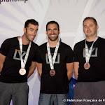 Loic Perroiun, Yohann Aby &Jean Philippe Ricordeau (vidéoman), Bronze en Freefly @ 5DIPC 2014, photo Montfortls