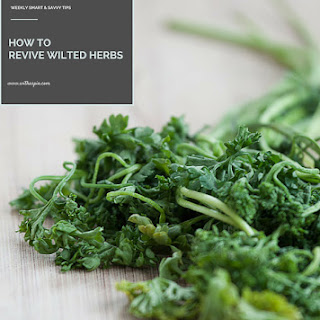 Revive Wilted Herbs.