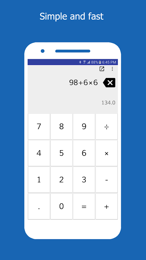 Simple Calculator- screenshot