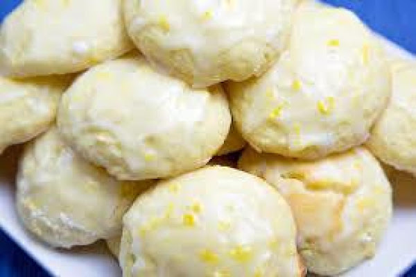 Lemon Ricotta Cookies W/lemon Glaze Recipe