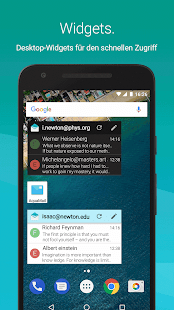 Aqua Mail ? E-Mail-App Screenshot