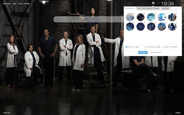 Grey's Anatomy HD Wallpapers New Tab