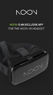 NOON VR – 360 video player - náhled