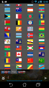 Flags smileys for Ace IM screenshot
