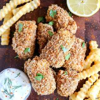 Crunchy Baked Fish Sticks Recipe