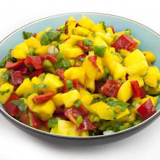 Copycat Bonefish Grill's Warm Mango Salsa.