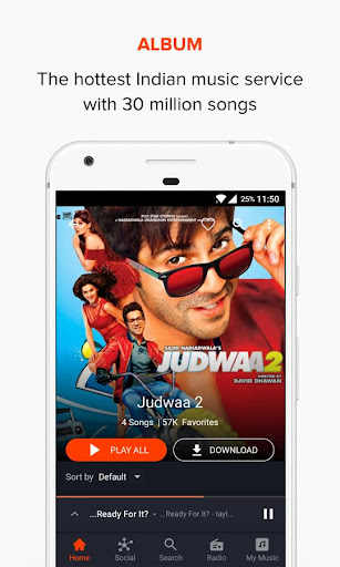 Gaana Music: Bollywood Songs & Radio for PC
