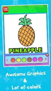 Fruit's Doodle Coloring Book - náhled