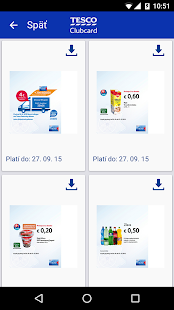 Tesco Clubcard Slovensko- screenshot thumbnail