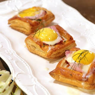 Holiday Ham and Fondue Pastries.