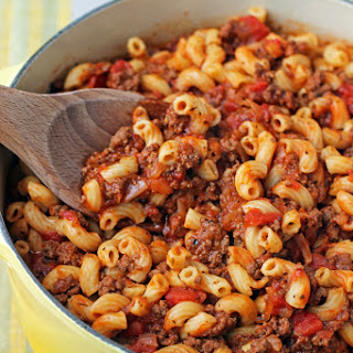 Spaghetti Sauce Goulash Recipes
