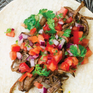 Beef Carnitas Tacos with Salsa Fresca