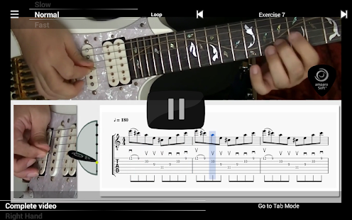 Guitar Master Sweeper Lessons- screenshot thumbnail
