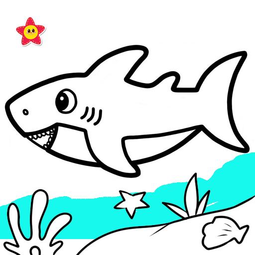Baby Shark Coloring And Drawing Google Play De Uygulamalar