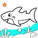 Baby Shark Coloring and Drawing