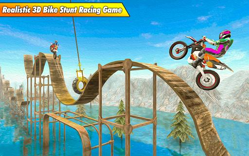 Bike Stunt Racing 3D - Free Games 2020 apktreat screenshots 2