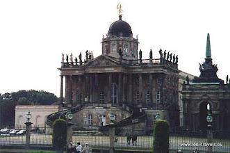 Photo: Potsdam. Sanssouci. Die Communs (1763-1769).bewerkenTitel verwijderen