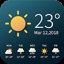 Real-time weather temperature report & widget APK