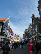 Photo: Volendam is an old fishing village but also a tourist draw