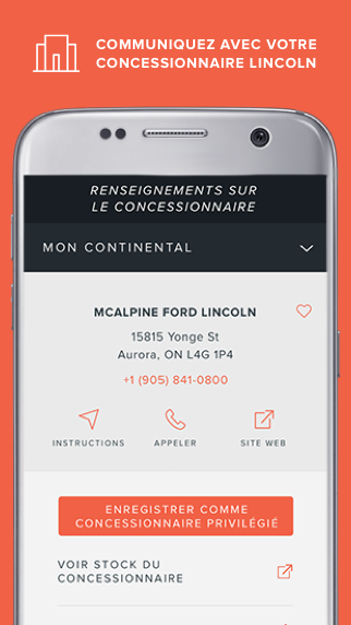 The Lincoln Way™: Lincoln Owner App – Capture d'écran