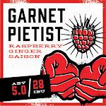 Back Pew Garnet Pietist Raspberry Ginger Saison
