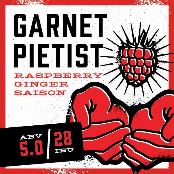 Logo of Back Pew Garnet Pietist Raspberry Ginger Saison