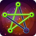 One Touch Line Drawing Puzzle icon