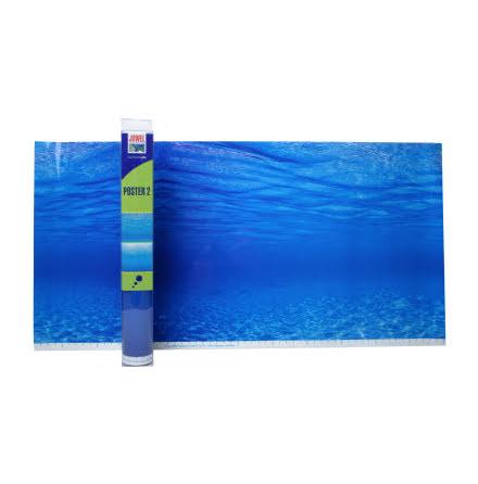 Bakgrund Poster Blått vatten flera storlekar