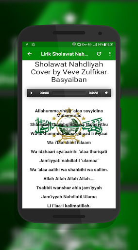 Sholawat Nahdlatul Ulama Offline screenshot 13