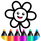 Toddler Drawing Academy🎓 Coloring Games for Kids