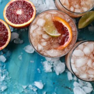 Blood Orange Tequila Fizz.