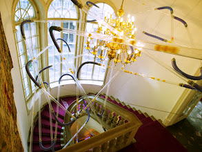 Photo: The historic staircase of the Potocki Palace, home of Kraków's Goethe-Institut