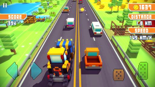 Blocky Highway screenshot 10