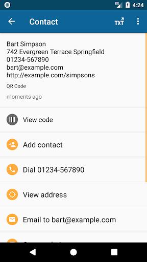 QRbot: QR code reader and barcode reader  screenshots 2